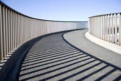 Abstract of an urban walkway Stock Image