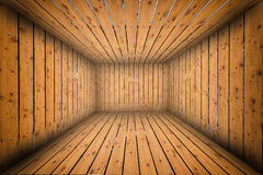 Abstract Urban Wooden Interior Room Background Stock Image