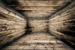 Abstract Urban Wooden Interior Room Background Royalty Free Stock Photo