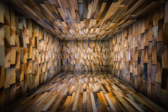 Abstract Urban Wooden Interior Room Background Stock Images