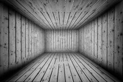 Abstract Urban Wooden Interior Room Background Royalty Free Stock Photography