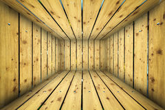 Abstract Urban Wooden Interior Room Background Stock Photos