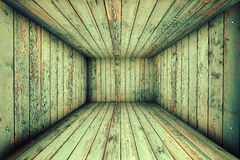 Abstract Urban Wooden Interior Room Background Stock Photo