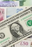 Abstract US Dollars stock photography