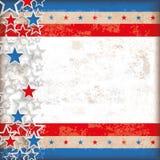 Abstract US-Flag Stars Stripes Vintage Stock Photos