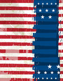 Abstract usa background, vector Stock Image