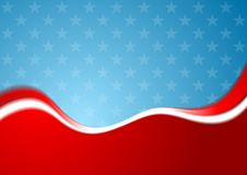 Abstract USA colors background Royalty Free Stock Images
