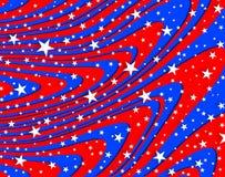 Abstract usa flag Stock Photos