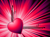 Abstract Valentine Royalty Free Stock Photography