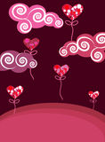 Abstract  valentine background Stock Images