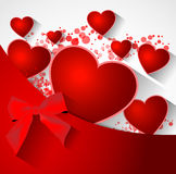 Abstract valentine background Royalty Free Stock Photos