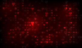 Abstract valentine background Stock Photography