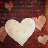Abstract valentine backgrounds Royalty Free Stock Photo