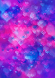 Abstract valentine bokeh background design Royalty Free Stock Image
