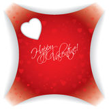 Abstract valentine day card Royalty Free Stock Photography