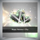 Abstract valentine days background Stock Photography