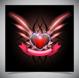 Abstract valentine days background Royalty Free Stock Photos