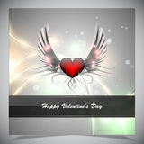 Abstract valentine days background Stock Image