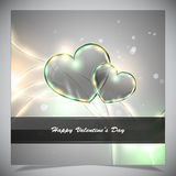 Abstract valentine days background Royalty Free Stock Photo