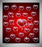Abstract valentine days background Royalty Free Stock Images