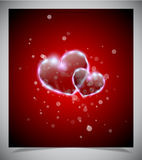 Abstract valentine days background Stock Photos