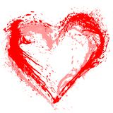 Abstract Valentine heart stock photography