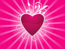 Abstract Valentine Heart Background Royalty Free Stock Image