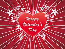Abstract Valentine Heart Background Stock Photography