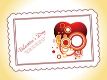 Abstract valentine's Royalty Free Stock Photography