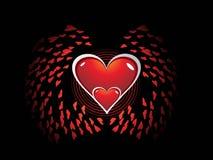 Abstract valentine's Stock Photos