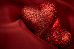 Abstract Valentine's backgrounds Stock Photography