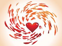 Abstract valentine's day Royalty Free Stock Photos