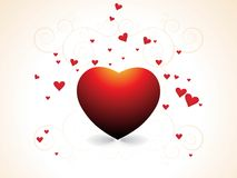 Abstract valentine's day Stock Photography