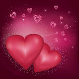 Abstract Valentine's  Day  background  Stock Photos