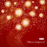 Abstract Valentine's Day background Stock Images