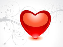 Abstract valentine's day card Royalty Free Stock Photo