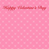 Abstract valentine's day card with hearts for your design.  Stock Image