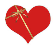 Abstract Valentine's day gift Royalty Free Stock Images