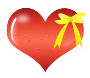 Abstract Valentine's day gift Stock Photography