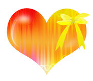 Abstract Valentine's day gift Stock Image