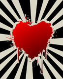 Abstract Valentine's Day graphic Royalty Free Stock Photo