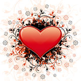Abstract Valentine's Day Heart Royalty Free Stock Photography