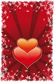 Abstract Valentine's Day Heart stock photo