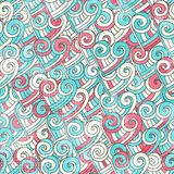 Abstract valentine seamless pattern with grunge ef Royalty Free Stock Photo