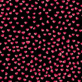 Abstract Valentine& X27;s Day Hearts. Red Hearts. Seamless Background For Your Design. Vector Illustration. Love Concept.