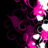 Abstract Valentines Background Stock Photography