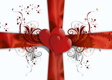 Abstract valentines background Royalty Free Stock Photos