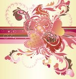Abstract Valentines Background Royalty Free Stock Photo