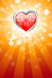 Abstract Valentines Day Background Stock Images