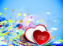 Abstract valentines day background Royalty Free Stock Photos